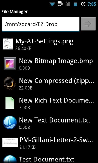 EZ-Drop-Android-File-Manager