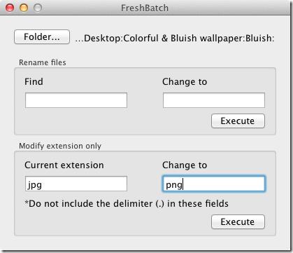 FreshBatch convert