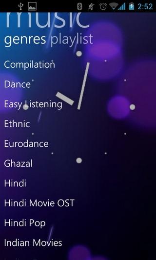 InstaMusic-Android-Genres