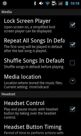 InstaMusic-Android-Settings