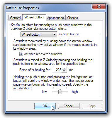 KatMouse Properties Scroll
