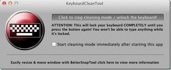 KeyboardClean
