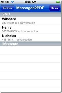 Messages2PDF