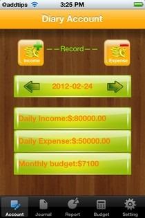 MoneyMgr iPhone