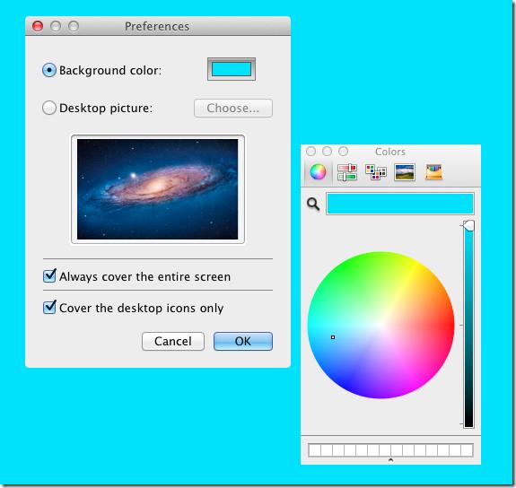 Screenshot Helper solid color