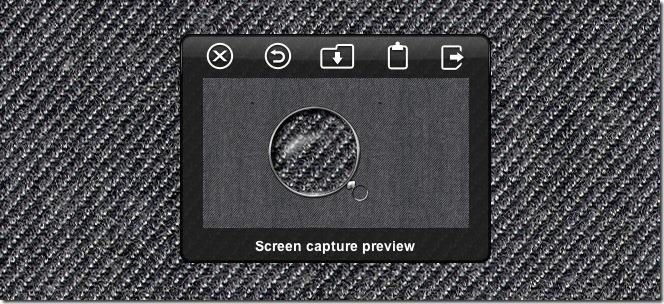 Screenshot Plus Widget screenshot