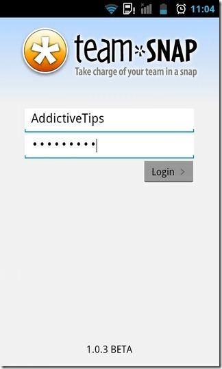 TeamSnap-Android-LogIn