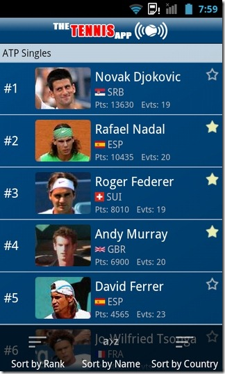 The-Tennis-App-Android-ATP-Singles-Rankings