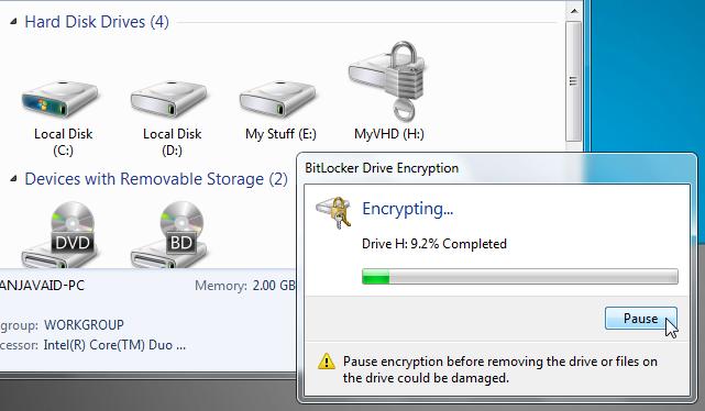 encrypting 3