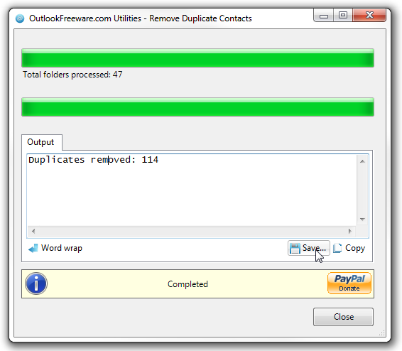 outlook contact remove 3