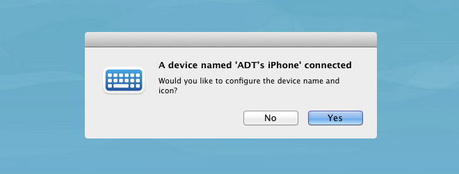 1Keyboard add iPhone