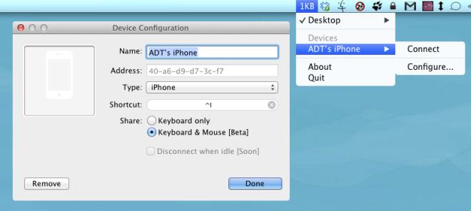 1Keyboard configure