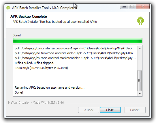 APK-Batch-Installer-Android-PC-Backup