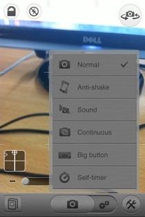 CameraSharp Modes