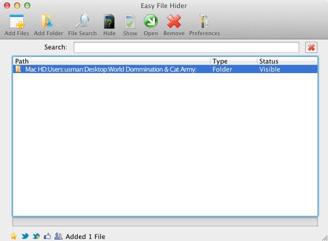 Easy File Hider