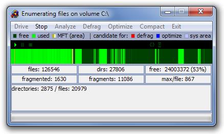 Enumerating files on volume C
