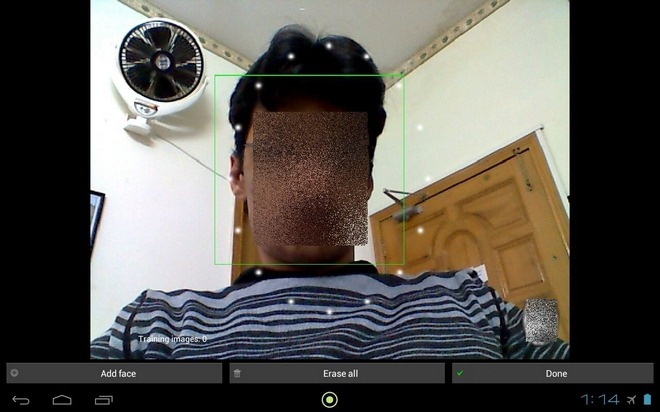 FaceLock-Android-Test