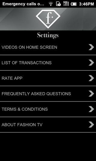 Fashion-TV-Android-Settings