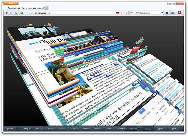 Firefox-3D-Effect