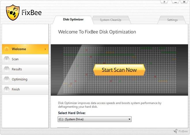 FixBee Disk Optimizer