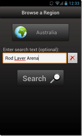 Flickr-Earth-Android-Search