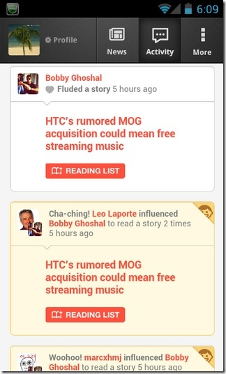 Flud-News-Android-Activity