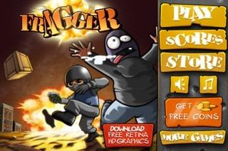 Fragger Main menu