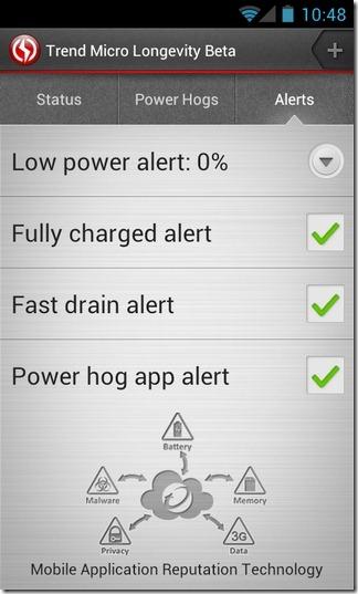 Longevity-Battery-Alerts