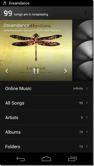 MIUI-Music-Player-Android-ICS-Home