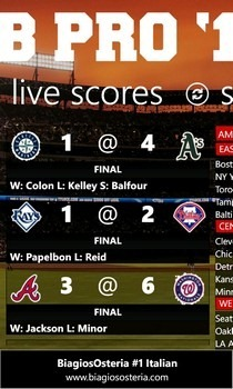 MLB Pro '12 Live Score