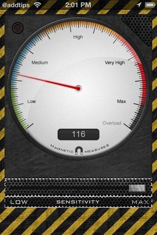 Metal Detector iPhone