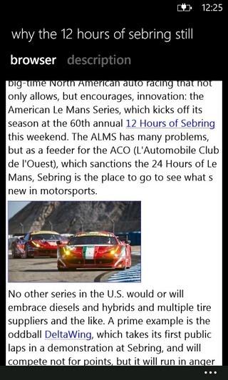 MetroCars News Browser