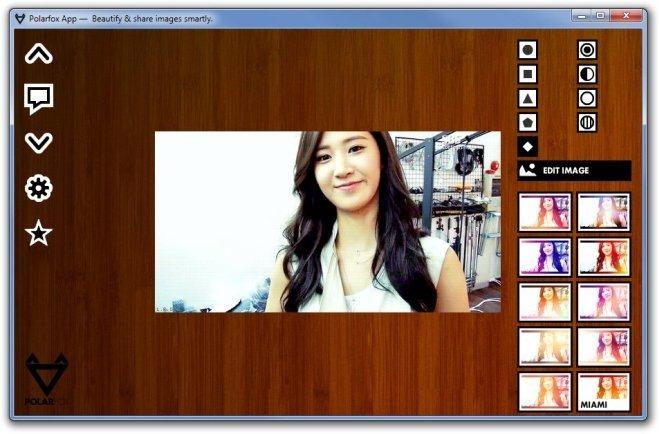 Polarfox App —  Beautify & share images smartly (Kwon Yuri)