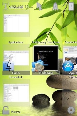 RC Trackpad windows