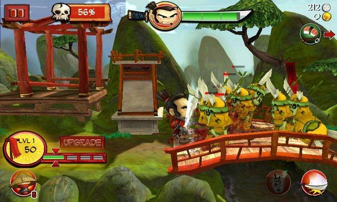 Samurai Vs Zombie Defense gamplay