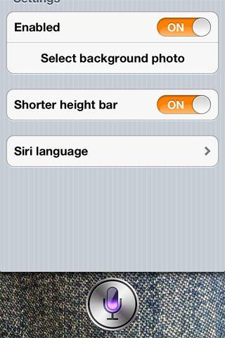 Siri-UI-tweak