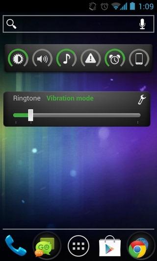 Slider-Widget-Android-Home