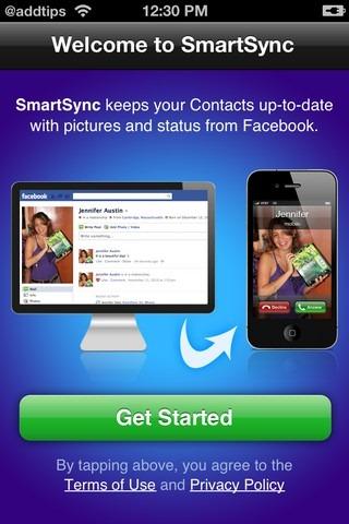 SmartSync iPhone