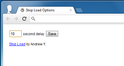 Stop Load Options