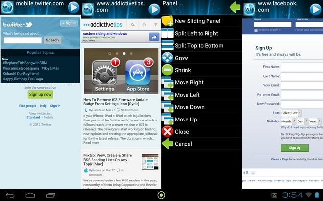 Web-Browser-ESP-Android-Home