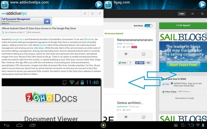 Web-Browser-ESP-Android-Sliding-Panel