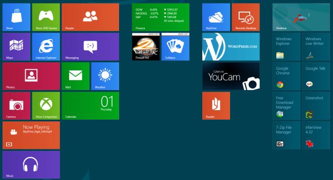 Windows 8 Metro Tiles New Group
