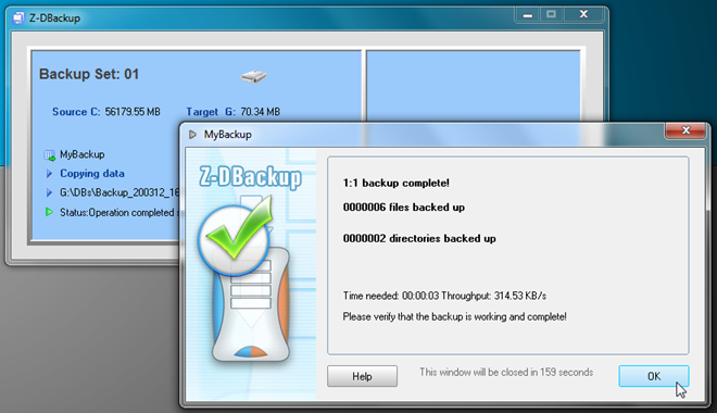 Z-DBackup: Modular File Backup Solution With Advance Directory Sync Options