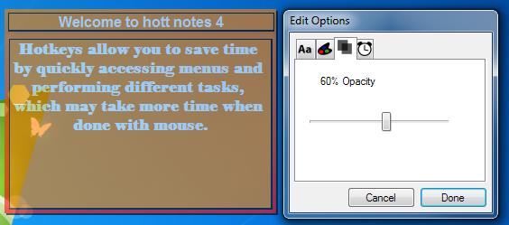hott note edit
