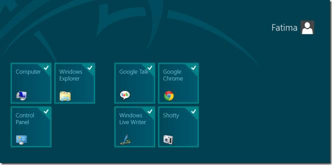 select tiles