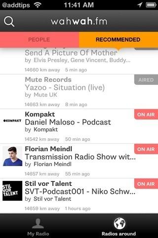 wahwah.fm Radio around