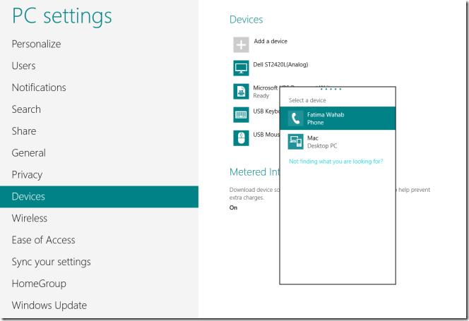 windows 8 add device