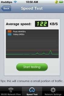 360MobileSafe Network Test