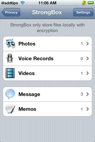 360MobileSafe Privacy StrongBox