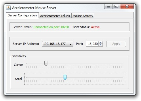 Accelerometer-Mouse-Android-PC-Client